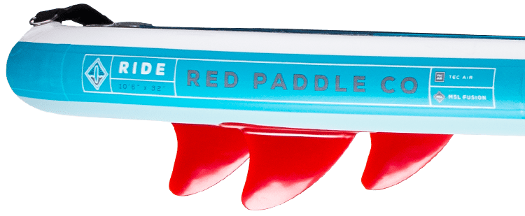 "Red Paddle 10'6"" Ride Fin Setup"