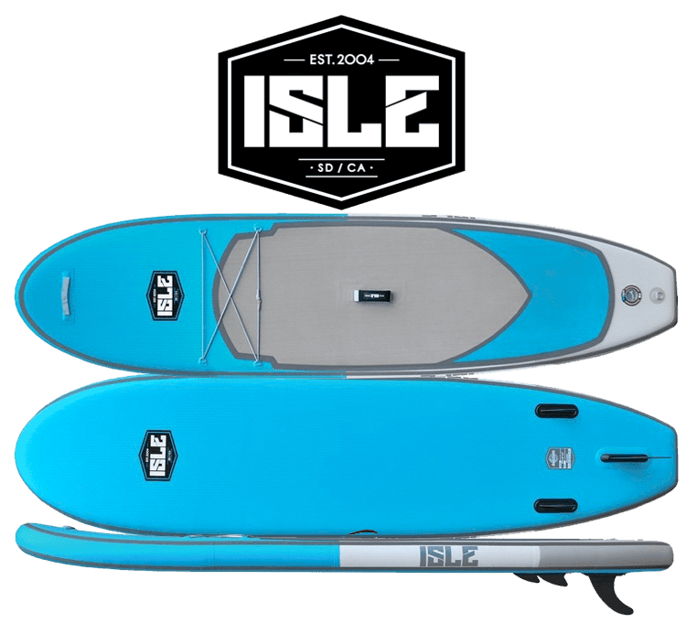 The ISLE 10 6″ All Around SUP is one of the newest additions to ISLE s  inflatable paddle board line. Being advertised as an  all-around  paddle  board ea7370357de5