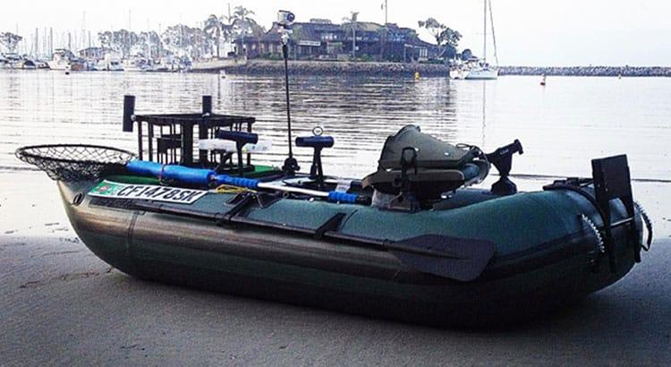 285 Frameless Pontoon Boat