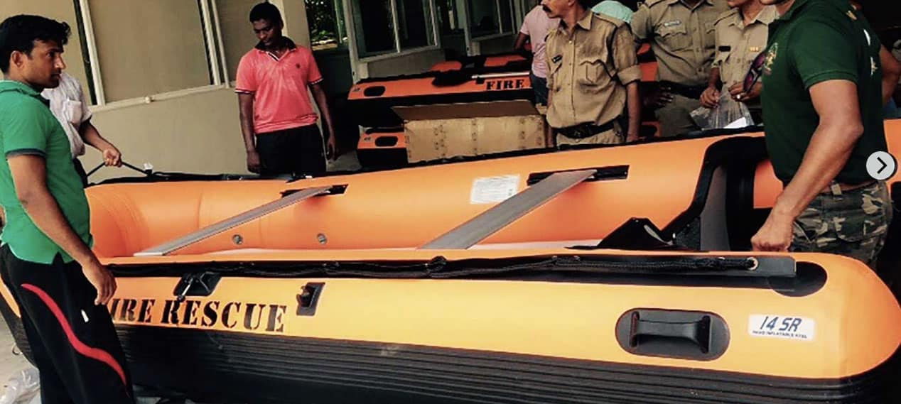 Sea Eagle 14' Orange Sport Runabout