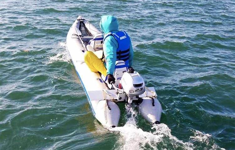 Sea Eagle 435ps Motor