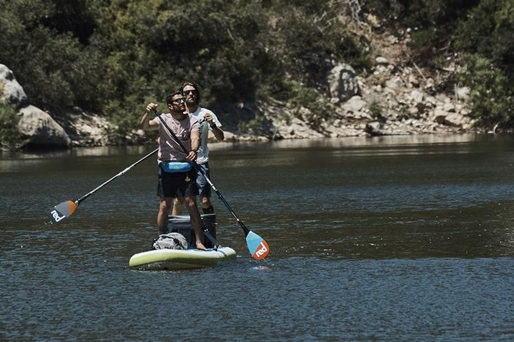 "2018 Red Paddle 15'0"" Voyager Tandem Paddling"