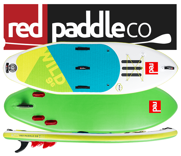 """2018 Red Paddle 9'6"""" Wild"""