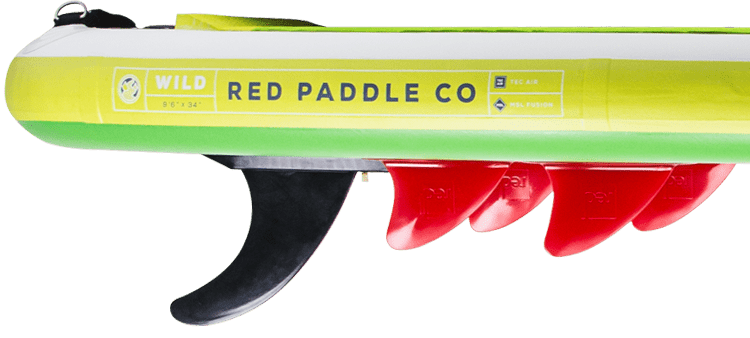 """2018 Red Paddle Co 9'6"""" Wild Fins"""