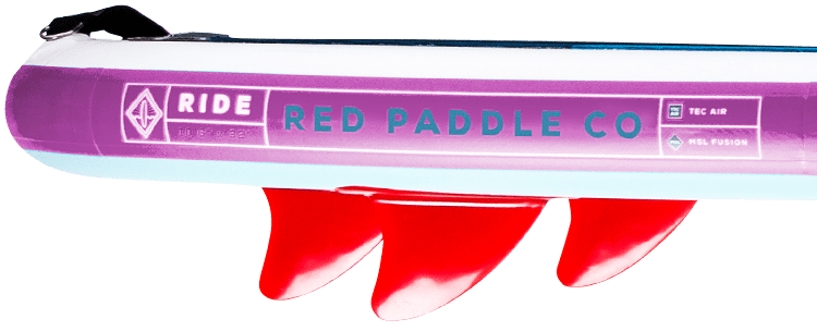 "Red Paddle 10'6"" Ride Special Edition Fins"