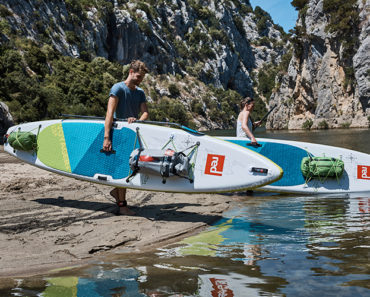 """Red Paddle Co 13'2"""" Voyager Touring iSUP"""