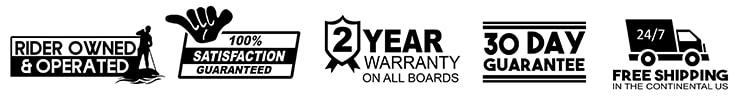 iROCKER BLACKFIN Model X Warranty