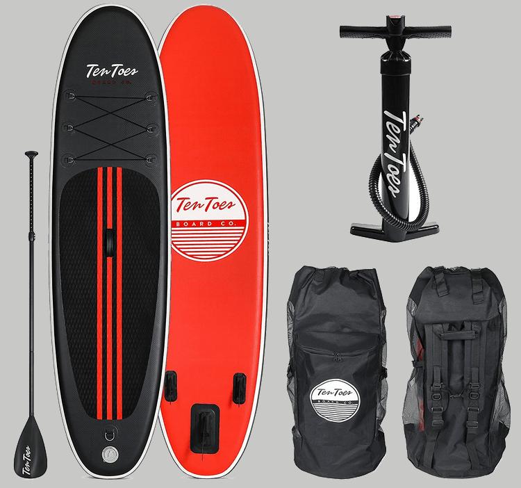 Ten Toes Weekender Paddle, Pump, and Rucksack Kit
