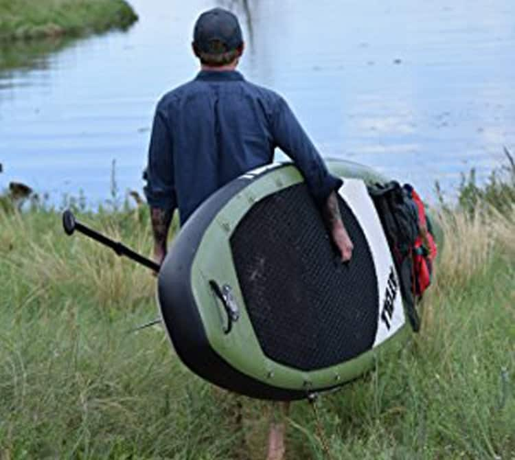 Carrying Atoll 11' Inflatable SUP