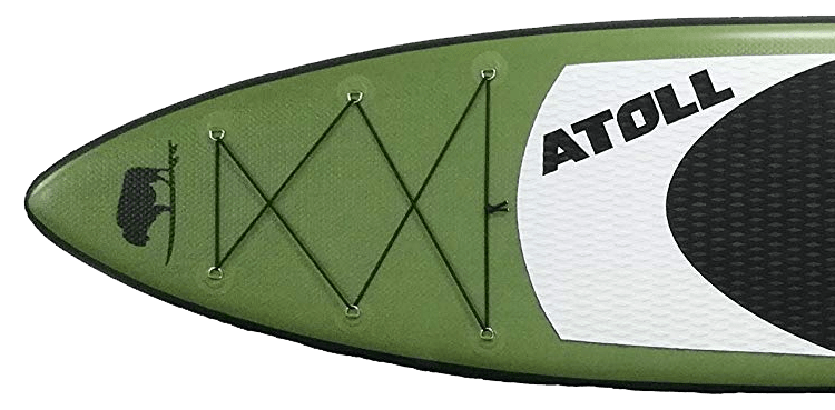 Atoll 11' Inflatable Paddle Board Nose