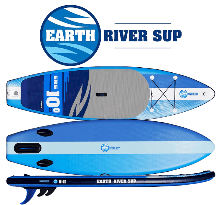 Earth River SUP 10' V-II Logo Top