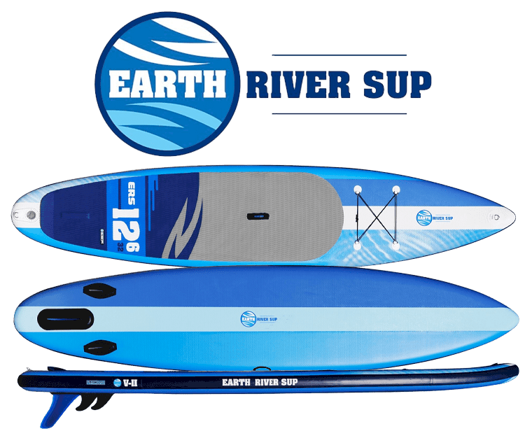 Earth River SUP 12'6 V-II Logo Top