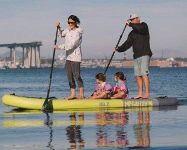 ISLE Megalodon Big SUP Family Paddle