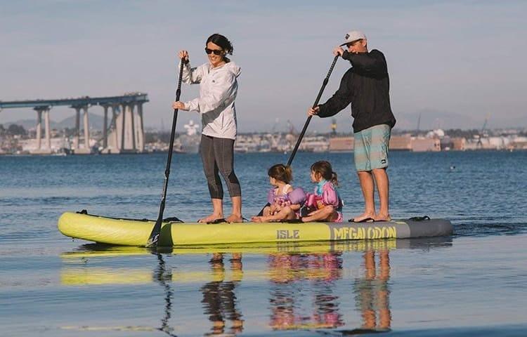 ISLE Megalodon Family Paddle