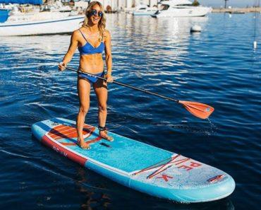 PEAK 10' Yoga/Fitness Solo Paddle