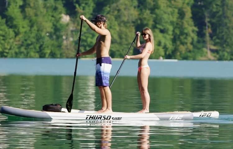 Paddling THURSO SURF Waterwalker 11