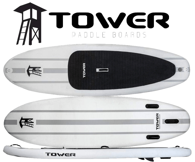 "Tower 9'10"" Adventurer 1 Inflatable SUP"