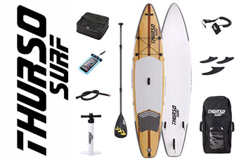 """THURSO SURF 11'6"""" Expedition SUP Board"""