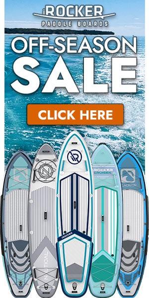 iROCKER SUP off-season sale